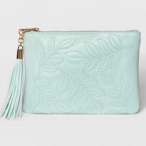 Target A New Day Pale Mint clutch
